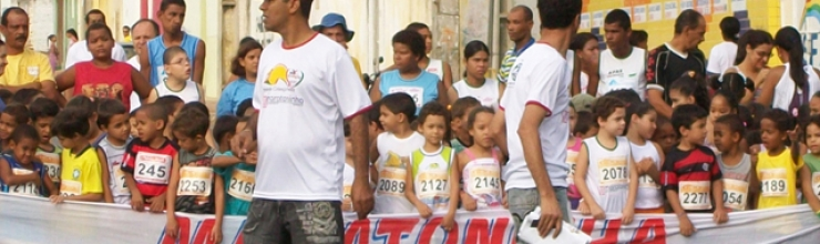 VIII Maratoninha – Corrida livre infantil